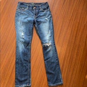 Express Mid Ride jeans size 0